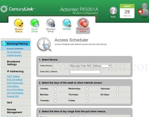 simple actiontec pk5001a router open port instructions rh portforward com PK5001A Sticker ZyXEL PK5001Z