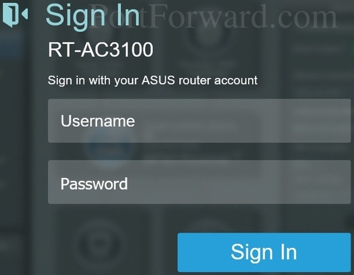 how to find out username and password for ip address
