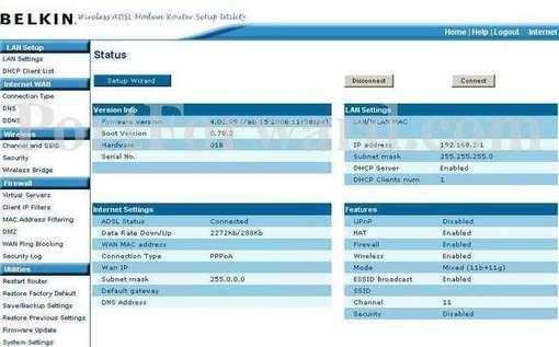 Belkin F5D7633au4A Driver for PC