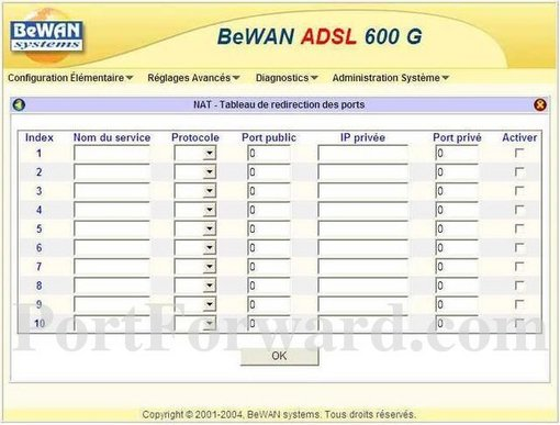 Bewan ADSL 600 G Download Driver
