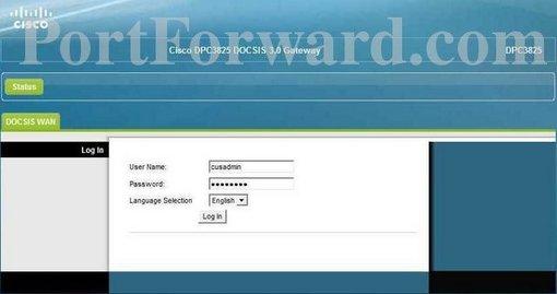 Simple Cisco DPC3825 Router Port Forwarding Steps