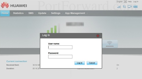 Easiest Way to Forward Ports on the Huawei E5573s Router
