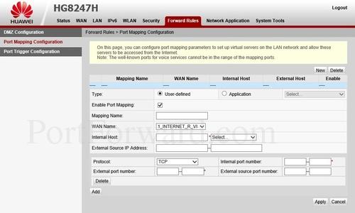 Huawei Ip Address