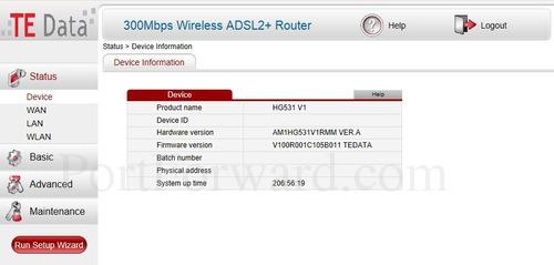 Simple Huawei HG531 V1 Router Port Forwarding Steps