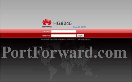 Easiest Way to Forward Ports on the Huawei HG8245T Router