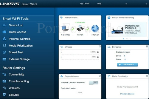 Simple Linksys EA4500 Smart Wi-Fi Router Open Port Guide