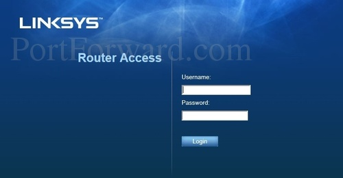 Linksys WRT54GL Login