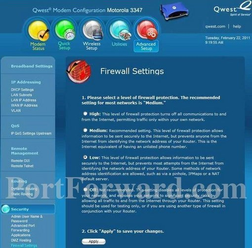 motorola 3347. motorola 3347-qwest screenshot 4 3347 0