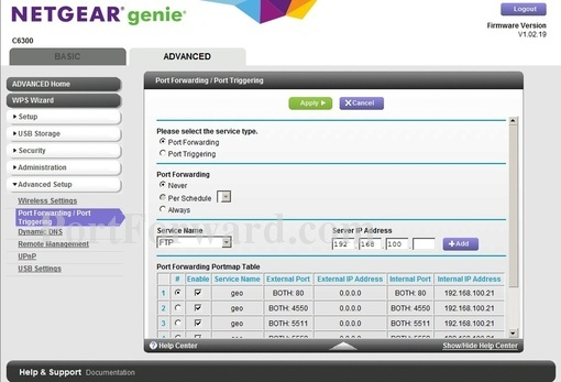 Fastest Netgear AC1750 C6300 Router Port Forwarding