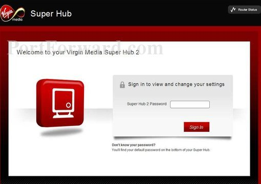 Virgin Media Ip Address >> Simple Netgear Super Hub 2 Router Open Port Instructions