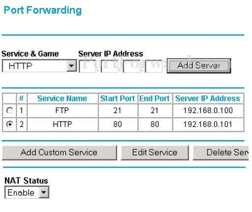 Netgear WGT624 Router Port Forwarding Guide