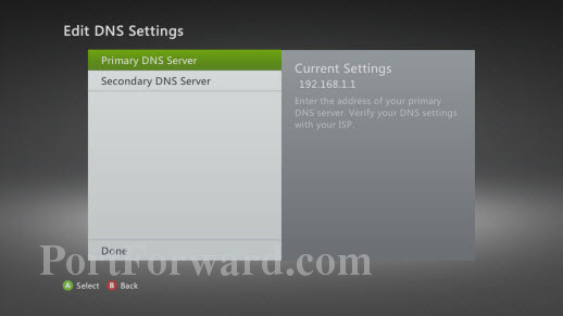 how to set up a static ip address on your xbox 360 rh portforward com