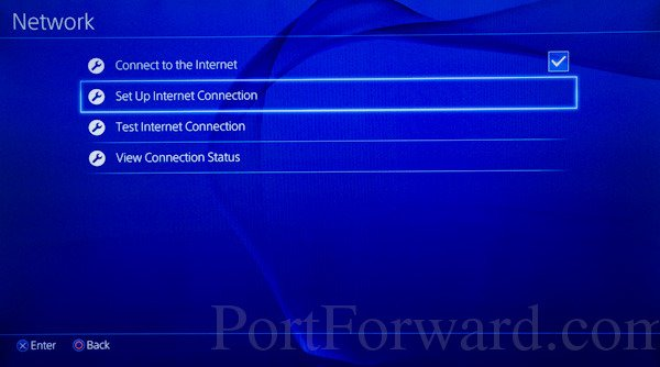 Can't connect to Internet on PlayStation 3