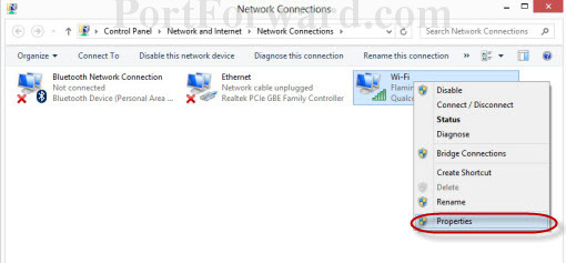 cannot connect to ethernet windows 8