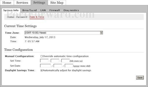How to set up static ip on pace 5268ac at&t community.
