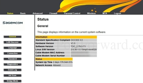 Sagemcom Fast 3686 Router Port Forwarding Guide