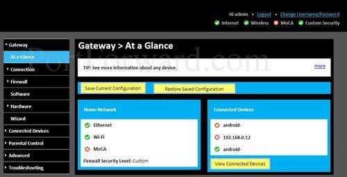 Simple Technicolor TC8715D Router Port Forwarding Instructions
