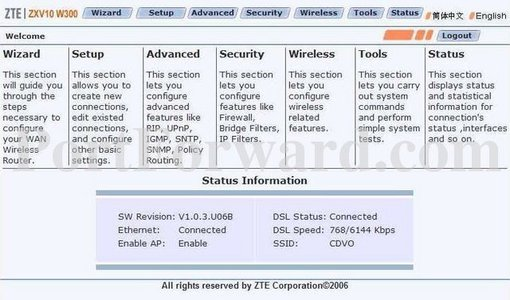 simple zte zxv10 w300 router port forwarding guide rh portforward com ZXV10 W300 Password ZXV10 W300 Password